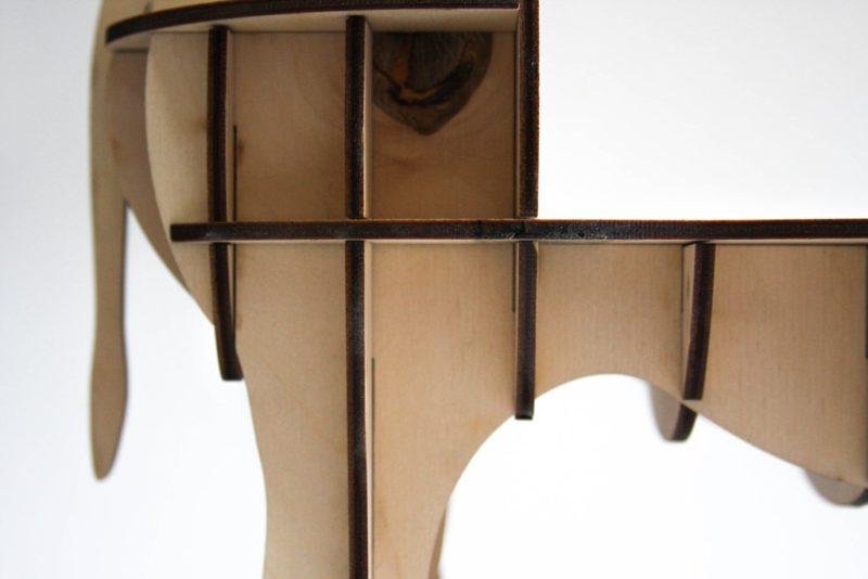 носорог из фанеры