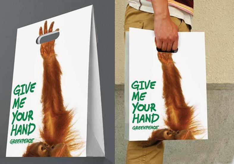 бумажные пакеты реклама