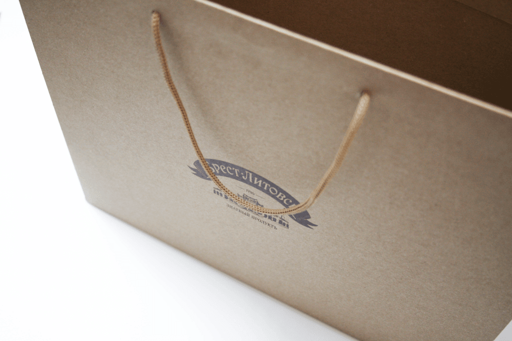 Пакеты с логотипом в Минске