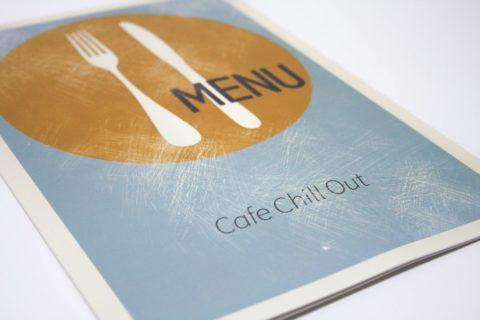 меню для кафе