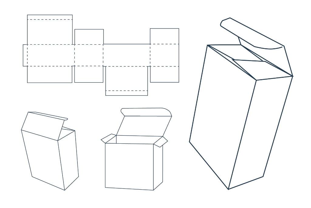 Коробка-пачка