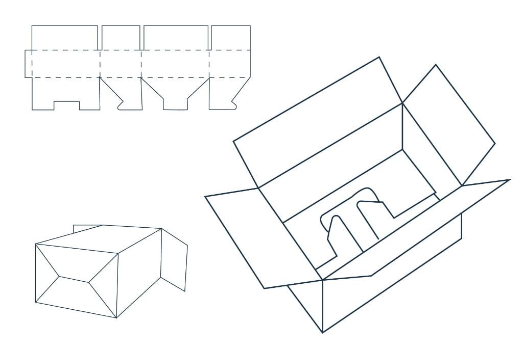 Коробка «Ласточкин хвост»