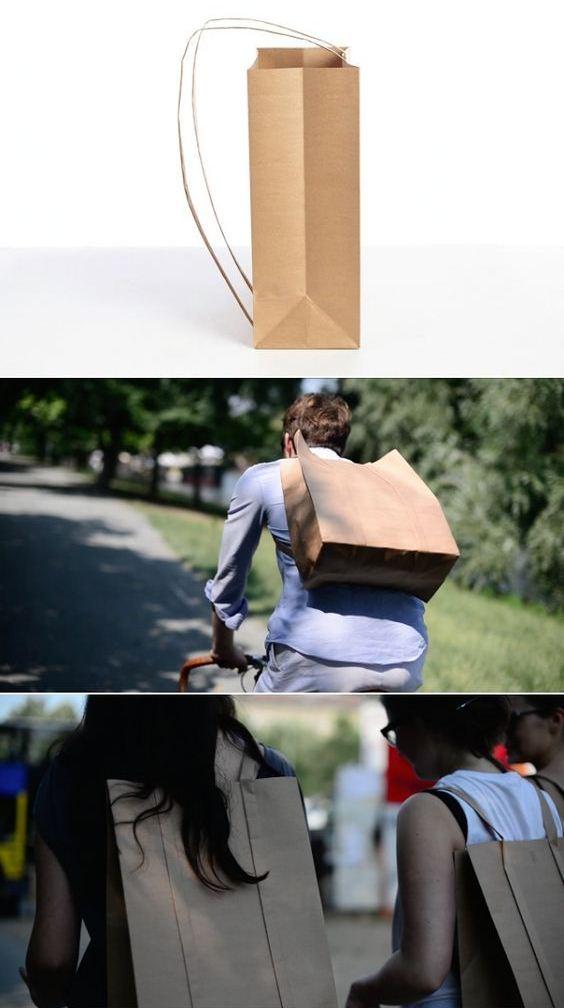 Бумажные пакеты и мода